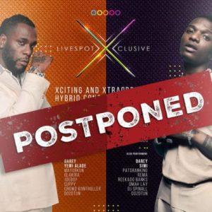 #COVID-19: Wizkid and Burna Boy's December Shows Postponed!