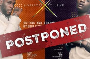 #COVID-19: Wizkid and Burna Boy's December Shows Postponed!