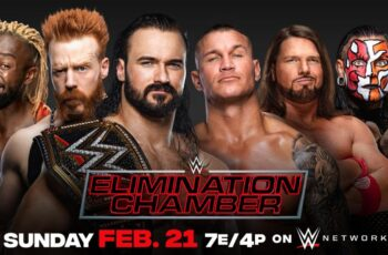 Watch WWE Elimination Chamber 2021 21/2/20 – 21th February 2021 Full Show On-line