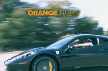 Larry June - 'Orange Print' (Album)