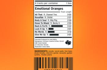 Emotional Oranges - 'The Juicebox' (EP)