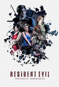 Series: RESIDENT EVIL: Infinite Darkness (Complete Season 1)
